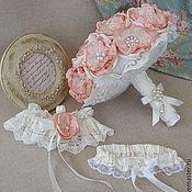 Свадебный салон ручной работы. Ярмарка Мастеров - ручная работа Свадебный комплект для невесты. Handmade.