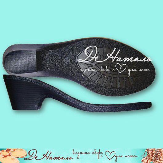 ТЭП подошва для вязания, валяния и пошива женской обуви ручной работы или промышленной работы. Подошва очень удобная на каблуке, подошва  большемерит на 2 размера, замеры читайте в описании товара.