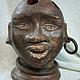 Вазы ручной работы. Ярмарка Мастеров - ручная работа. Купить Декоративная подставка «Африка». Handmade. Коричневый, подарок для художника