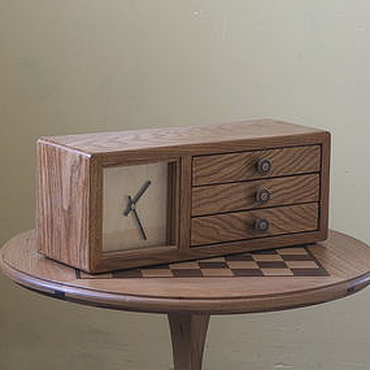 Для дома и интерьера ручной работы. Ярмарка Мастеров - ручная работа Часы с ящичками. Handmade.