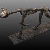 Изделия ручной работы. Ярмарка Мастеров - ручная работа Скульптура «Блудный пёс». Handmade.