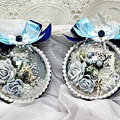 """Подарки к праздникам ручной работы. Ярмарка Мастеров - ручная работа Интерьерное украшение """"Голубика в снегу"""". Handmade."""