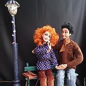 Куклы и игрушки ручной работы. Ярмарка Мастеров - ручная работа Авторские художественные куклы композиция Счастливы вместе. Handmade.