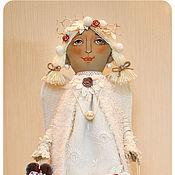 Куклы и игрушки ручной работы. Ярмарка Мастеров - ручная работа авторская кукла ЗИМНИЙ АНГЕЛ. Handmade.