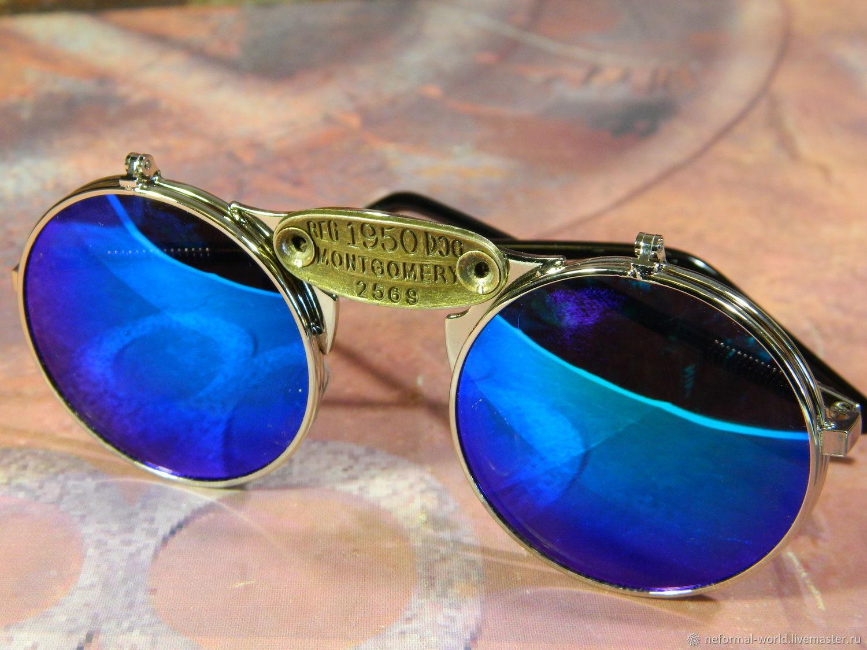 GLASSES GGOGLE STEAMPUNK 'SHERLOCK HOMES', Glasses, Saratov,  Фото №1