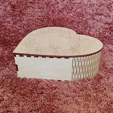 Для дома и интерьера ручной работы. Ярмарка Мастеров - ручная работа Шкатулка сердце ``Бабочки``. Handmade.