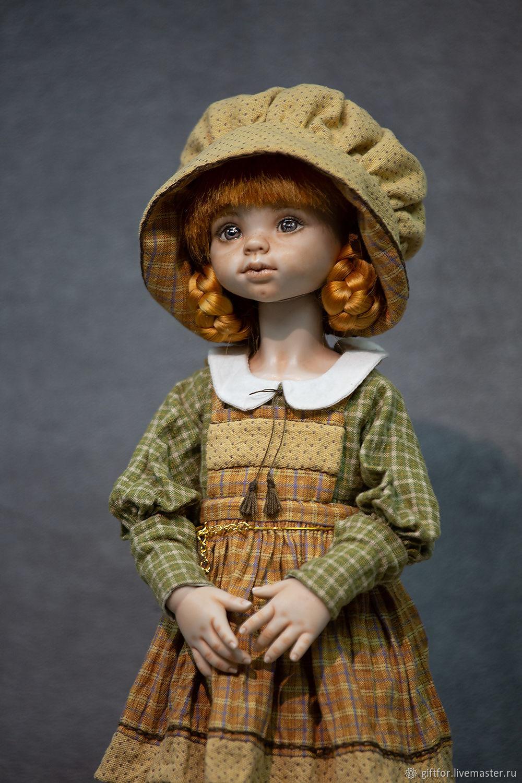 Фарфоровая шарнирная кукла, Шарнирная кукла, Всеволожск,  Фото №1