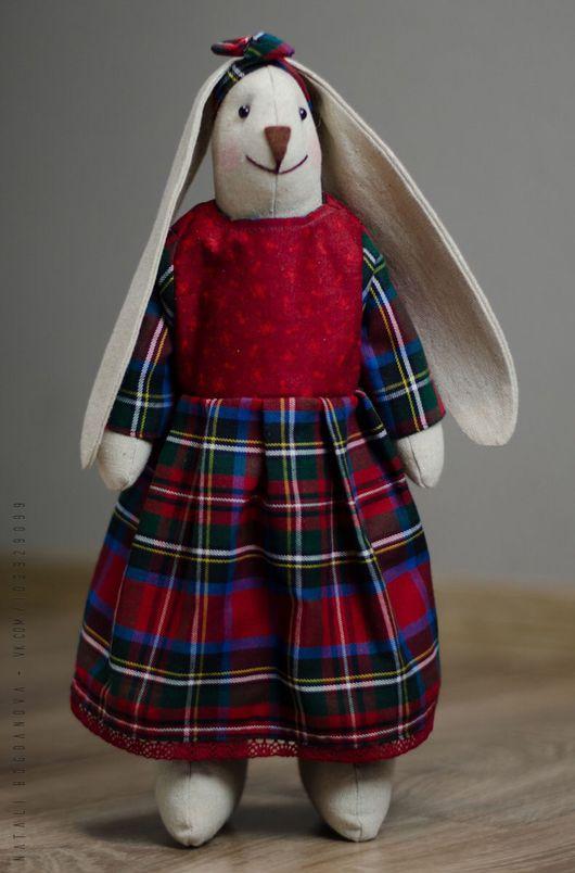 """Куклы Тильды ручной работы. Ярмарка Мастеров - ручная работа. Купить Заяц """"Брит"""". Handmade. Заяц, подарок на любой случай"""