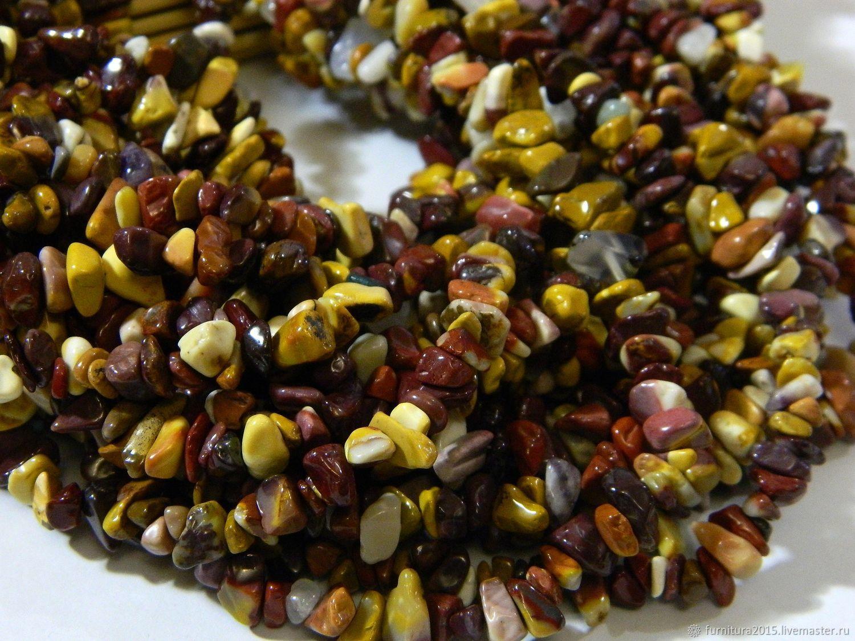 Flour crumb 85 cm thread. thread, Beads1, Saratov,  Фото №1
