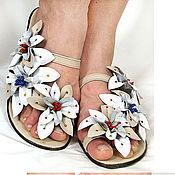 Обувь ручной работы. Ярмарка Мастеров - ручная работа ЖЕНСКИЕ босоножки. Handmade.