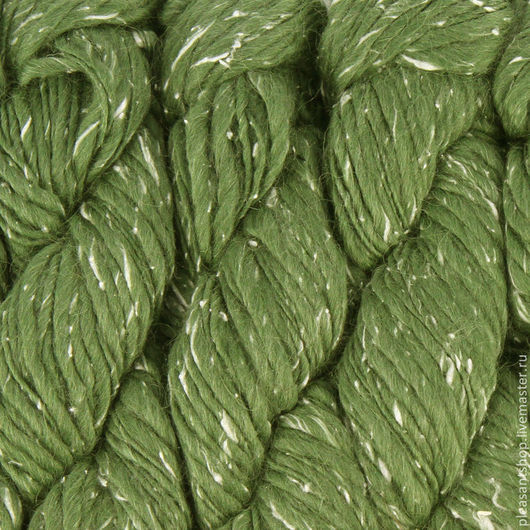 Вязание ручной работы. Ярмарка Мастеров - ручная работа. Купить Mirasol Hasa Moss. Handmade. Зеленый, пряжа для спиц