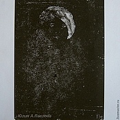 """Картины и панно ручной работы. Ярмарка Мастеров - ручная работа Картина """"Старое фото"""" графика портрет современное искусство. Handmade."""