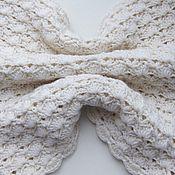 """Аксессуары ручной работы. Ярмарка Мастеров - ручная работа Снуд """"Белым-бело"""", шарф, воротник. Handmade."""