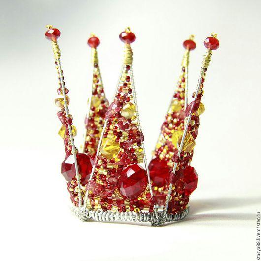 Заколки ручной работы. Ярмарка Мастеров - ручная работа. Купить Корона для принцессы. Handmade. Корона для принцессы, корона для фотосессии, комбинированный