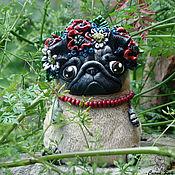 Куклы и игрушки ручной работы. Ярмарка Мастеров - ручная работа Мопся Дуняша. Handmade.