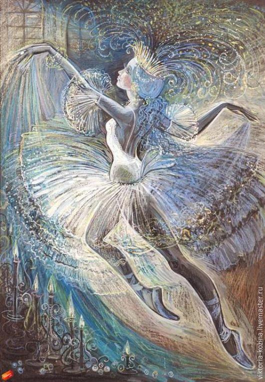 Работа выполнена с огромной любовью к балету...