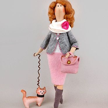 Тильда кукла Учительница