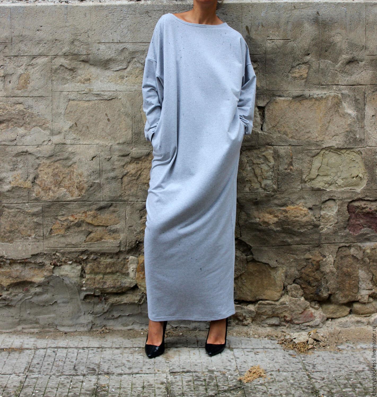 Длинное платье зима купить