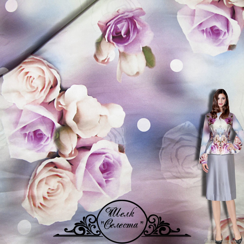 Silk fabric итальянские ткани, Fabric, Sochi,  Фото №1