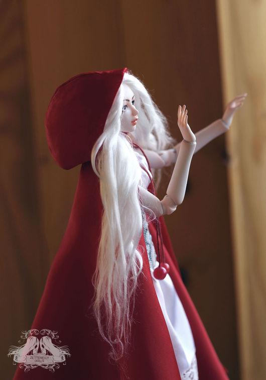Коллекционные куклы ручной работы. Ярмарка Мастеров - ручная работа. Купить Red Riding Hood. Handmade. Ярко-красный