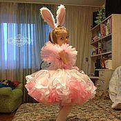Работы для детей, ручной работы. Ярмарка Мастеров - ручная работа Кошечка / зайка белая нежная пышная  :). Handmade.