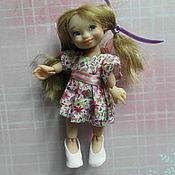 Шарнирная кукла ручной работы. Ярмарка Мастеров - ручная работа Танюшка шарнирная кукла. Handmade.