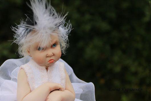Коллекционные куклы ручной работы. Ярмарка Мастеров - ручная работа. Купить Прима...надежда Большого... Handmade. Кукла балерина, перо