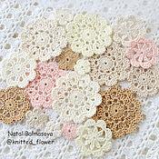 Материалы для творчества handmade. Livemaster - original item A set of knitted decorations for scrap, etc.. Handmade.