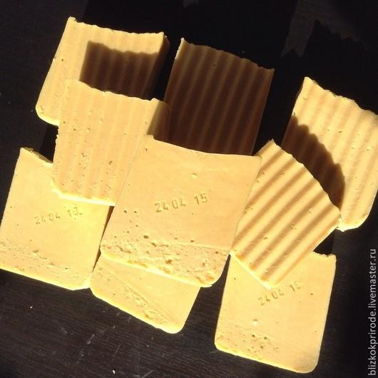 Мыло ручной работы. Ярмарка Мастеров - ручная работа. Купить Мыло ЧЕРЕДА детское. Handmade. Желтый, мыло на травах