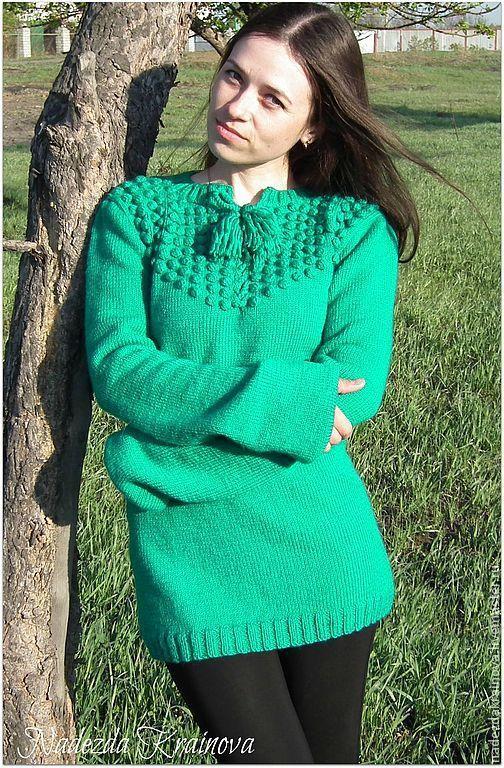 Кофты и свитера ручной работы. Ярмарка Мастеров - ручная работа. Купить Костюм. Handmade. Зеленый