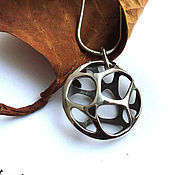 Украшения handmade. Livemaster - original item Silver pendant