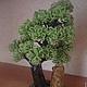 Деревья ручной работы. Ярмарка Мастеров - ручная работа. Купить Дерево из бисера. Handmade. Бонсай из бисера, флористика, проволока