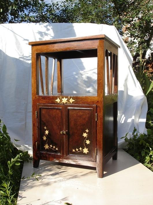 Мебель ручной работы. Ярмарка Мастеров - ручная работа. Купить тумба этажерка. Handmade. Единственный экземпляр, авторская роспись