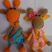 Куклы и игрушки handmade. Livemaster - original item Grafiki Lola and Roofing. Handmade.