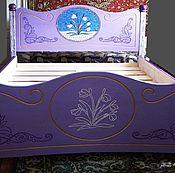 Для дома и интерьера ручной работы. Ярмарка Мастеров - ручная работа Кровать в сиреневый дом. Handmade.