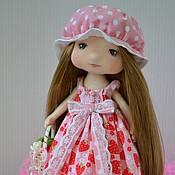 """Куклы и игрушки ручной работы. Ярмарка Мастеров - ручная работа Текстильная кукла """"Ника"""". Handmade."""