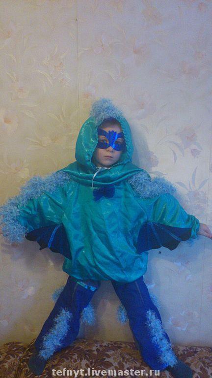 Детские карнавальные костюмы ручной работы. Ярмарка Мастеров - ручная работа. Купить Синяя птица. Handmade. Карнавальный костюм