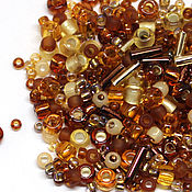 Бисер ручной работы. Ярмарка Мастеров - ручная работа Бисер Микс TOHO №3219 золотистый Японский бисер TOHO Beads 10гр. Handmade.