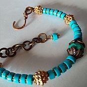 Украшения handmade. Livemaster - original item Bracelet Boho style. Turquoise natural.. Handmade.