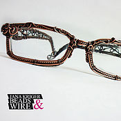 Аксессуары ручной работы. Ярмарка Мастеров - ручная работа Оправы на заказ. Очки. Оправы в технике Wire Wrap.. Handmade.