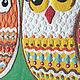 """Детская ручной работы. Панно в детскую """"Совушки"""", песочный декор. Студия Кварцевой живописи А.Нартова. Ярмарка Мастеров. Совы"""