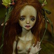 "Куклы и игрушки handmade. Livemaster - original item Porcelain ball jointed doll ""Ginger"". Handmade."