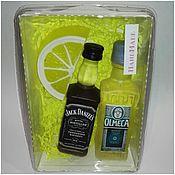 """Косметика ручной работы. Ярмарка Мастеров - ручная работа мыло ручной работы""""виски+текила с лимоном+"""". Handmade."""
