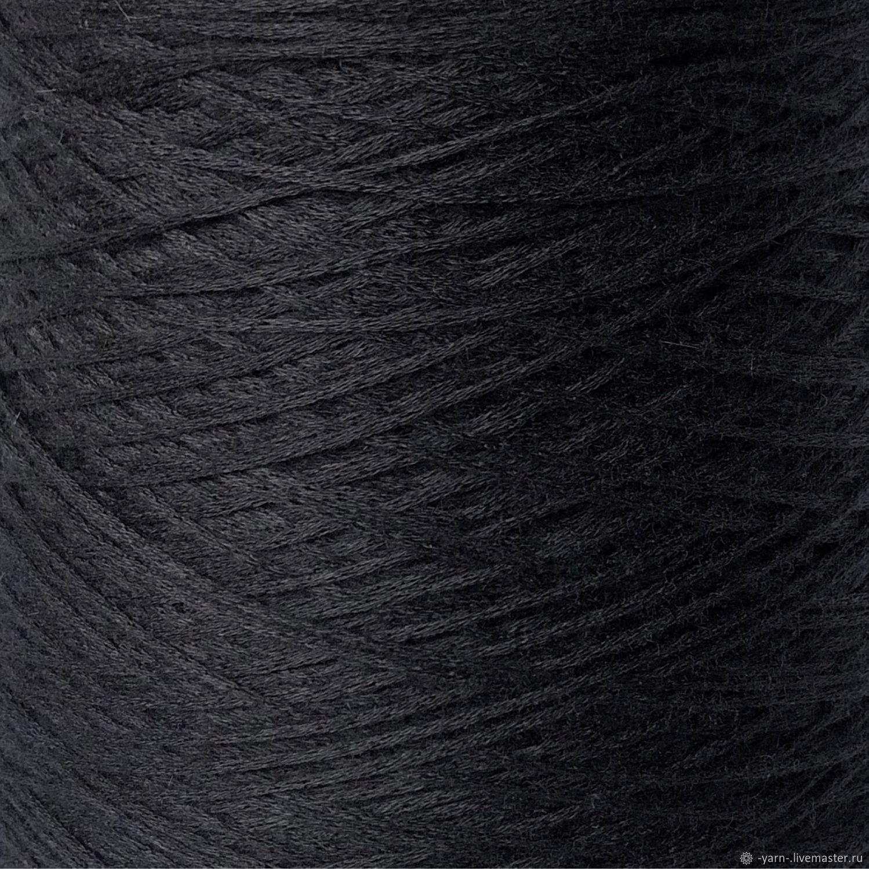 Пряжа Кашемир ALASHAN  шнурок темно-синий – купить на Ярмарке Мастеров – MTUDQRU | Пряжа, Санкт-Петербург