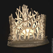 Для дома и интерьера handmade. Livemaster - original item Candle holder glass