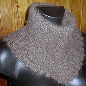 Аксессуары handmade. Livemaster - original item Women`s knitted dickey Сappuccino. Handmade.