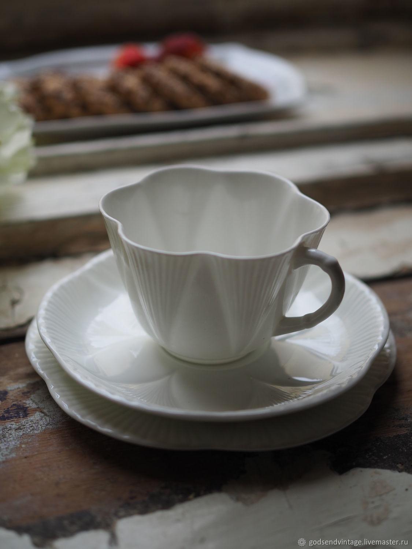 Tea Troika Shelley, 1945-1966, Vintage mugs, St. Petersburg,  Фото №1