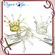 """корона """"Маленькая принцесса"""". Украшения для причесок. Bagira-Olga Эксклюзивные украшения. Ярмарка Мастеров.  Фото №6"""