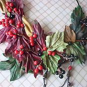 """Украшения ручной работы. Ярмарка Мастеров - ручная работа Колье """" Осенние ягоды""""отложено. Handmade."""