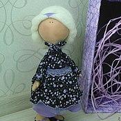 Куклы и игрушки ручной работы. Ярмарка Мастеров - ручная работа Интерьерная кукла Виолетта. Handmade.
